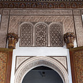 Doors And Decorations From Bahia Palace by Aivar Mikko
