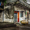 Doors In Old Shilong by Endre Balogh
