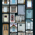 Doors Of Door County Poster by Tim Nyberg