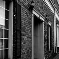 Doorway Black And White by Marina McLain