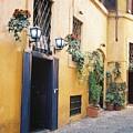Doorway In Rome by Valerie Lynn