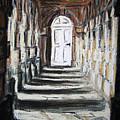 Doorway. by John Cox