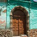 Doorway Quezaltenango Guatemala 1 by Douglas Barnett