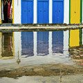 Doorways In Paraty  by Stan Roban
