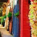 Doorways On Queen Street by Donna Bentley
