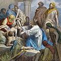 Dor�: Jesus Healing Sick by Granger