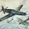 Dornier Do335 Pfeil Arrow by Randy Green