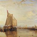 Dort Or Dordrecht The Dort Packet Boat From Rotterdam Becalmed by Joseph Mallord William Turner