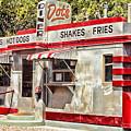 Dots Diner Bisbee Az by Lynn Andrews