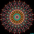 Dotted Wishes No. 4 Mandala by Joy McKenzie