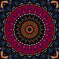 Dotted Wishes No. 5 Kaleidoscope by Joy McKenzie