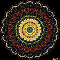 Dotted Wishes No. 6 Mandala by Joy McKenzie