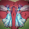 Double Angel by Leticia Latocki