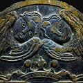 Double Angel Memorial by Lisa Brandel