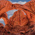 Double Arches At Arches National Park by Penny Lisowski