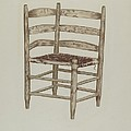 Double Back Chair by Dorothy Johnson