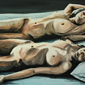 Double Bed by Stanimir Stoykov