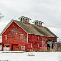 Double Cupola Barn by Rod Best