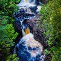 Double Falls by Rikk Flohr