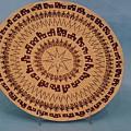 Double Friendship Plate Basket by Darlene Ryer