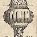 Double Goblet With Oval Decorations by Sebald Beham
