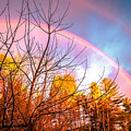 Double Rainbow-hdr by Claudia M Photography