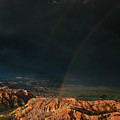 Double Rainbow Over Hoodoos Bryce Canyon National Park by Dave Welling