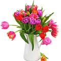 Double Tulips Bouquet by Anastasy Yarmolovich