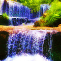 Double Waterfall by Bill Cannon