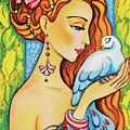 Dove Fairy by Eva Campbell