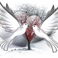 Doves Of Peace by Frederick Holiday
