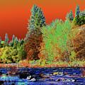 Down Along The Spokane River by Ben Upham III