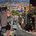 Down the hill in San Miguel de Allende