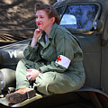 Down Time-us Army Nurse Corps by Tommy Anderson