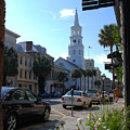 Down Town Charleston by Susanne Van Hulst