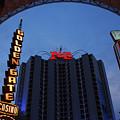 Down Town Las Vegas by Susanne Van Hulst