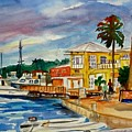 Down Town St Croix by Diane Elgin