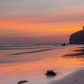 Downhill Beach Sunrise Mussenden Temple by Glen Sumner