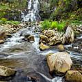 Downstream From Chittenango Falls by Karen Jorstad