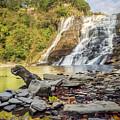 Downstream From Ithaca Falls by Karen Jorstad