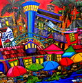 Downtown Attractions by Patti Schermerhorn