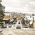 Downtown Auburn In The Snow 3 by Sherri Meyer