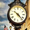 Downtown Aurora Indiana by Mel Steinhauer