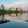 Downtown Austin Texas Skyline 2 by Rob Greebon