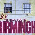 Downtown Birmingham  by JC Findley