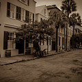 Vintage Downtown Charleston South Carolina by Dale Powell