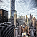 Downtown Chicago Cityscape 1  by Jennifer Rondinelli Reilly - Fine Art Photography