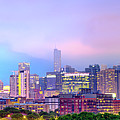 Downtown Chicago Cityscape Skyline Panorama by Gregory Ballos