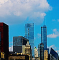 Downtown Chicago by Don Baker