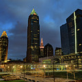 Downtown Cleveland At Dusk by Cityscape Photography